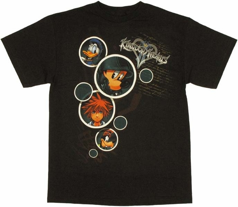 Kingdom Hearts Bubbles T Shirt