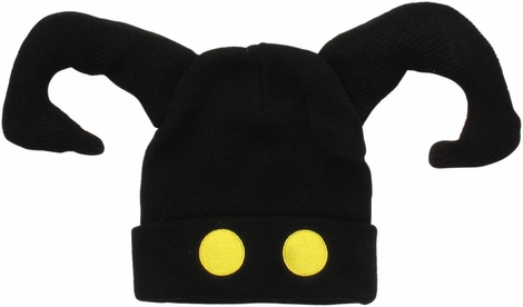 Kingdom Hearts Shadow Face Cuff Beanie
