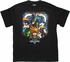 Kingdom Hearts Stain Glass Quad T Shirt