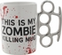 Knuckles This is My Zombie Killing Mug