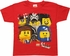 Lego Movie 5 Character Close Up Juvenile T-Shirt