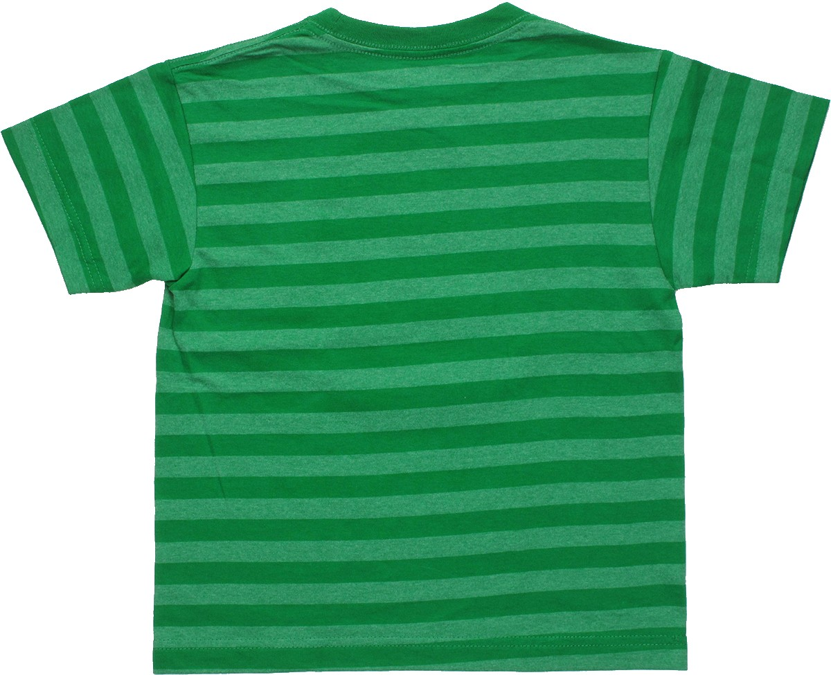 Lego ninjago striped green juvenile t shirt