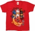 Lego Ninjago Warrior Fighters Red Juvenile T-Shirt