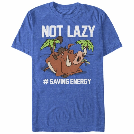 Lion King Pumbaa Saving Energy T-Shirt