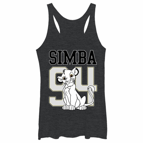 Lion King Simba 94 Tank Top Juniors T-Shirt