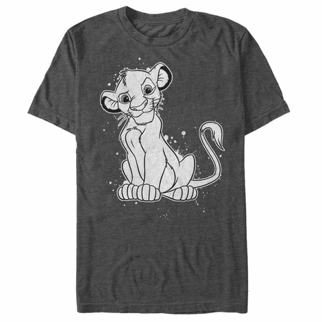 Lion King Simba Splatter T-Shirt