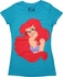 Little Mermaid Ariel Glasses Baby Tee