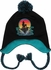 Little Mermaid Ariel Rock Pom Tassel Youth Beanie