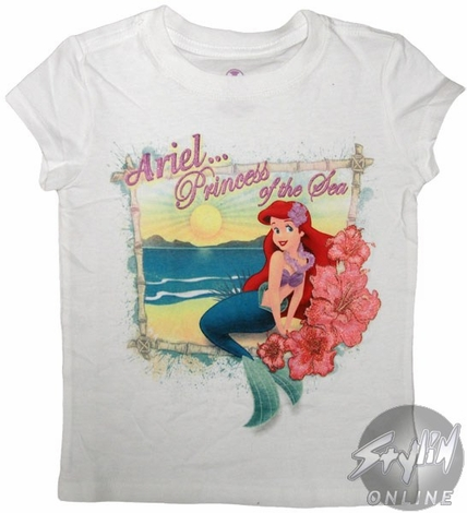 Little Mermaid Girls T-Shirt