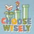 Mario Choose Wisely T Shirt