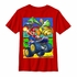 Mario Kart Multi Color Panels Youth T-Shirt