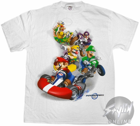 Mario Kart Vehicles T-Shirt