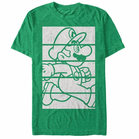 Mario Side Block Stack T-Shirt