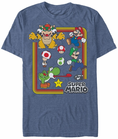 Mario Super Toon Group T-Shirt