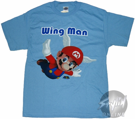 Mario Wing Man T-Shirt