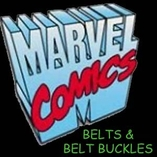 Marvel Belts and Belt Buckles