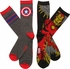 Marvel Iron Man and Capt America 2 Pk Socks Set