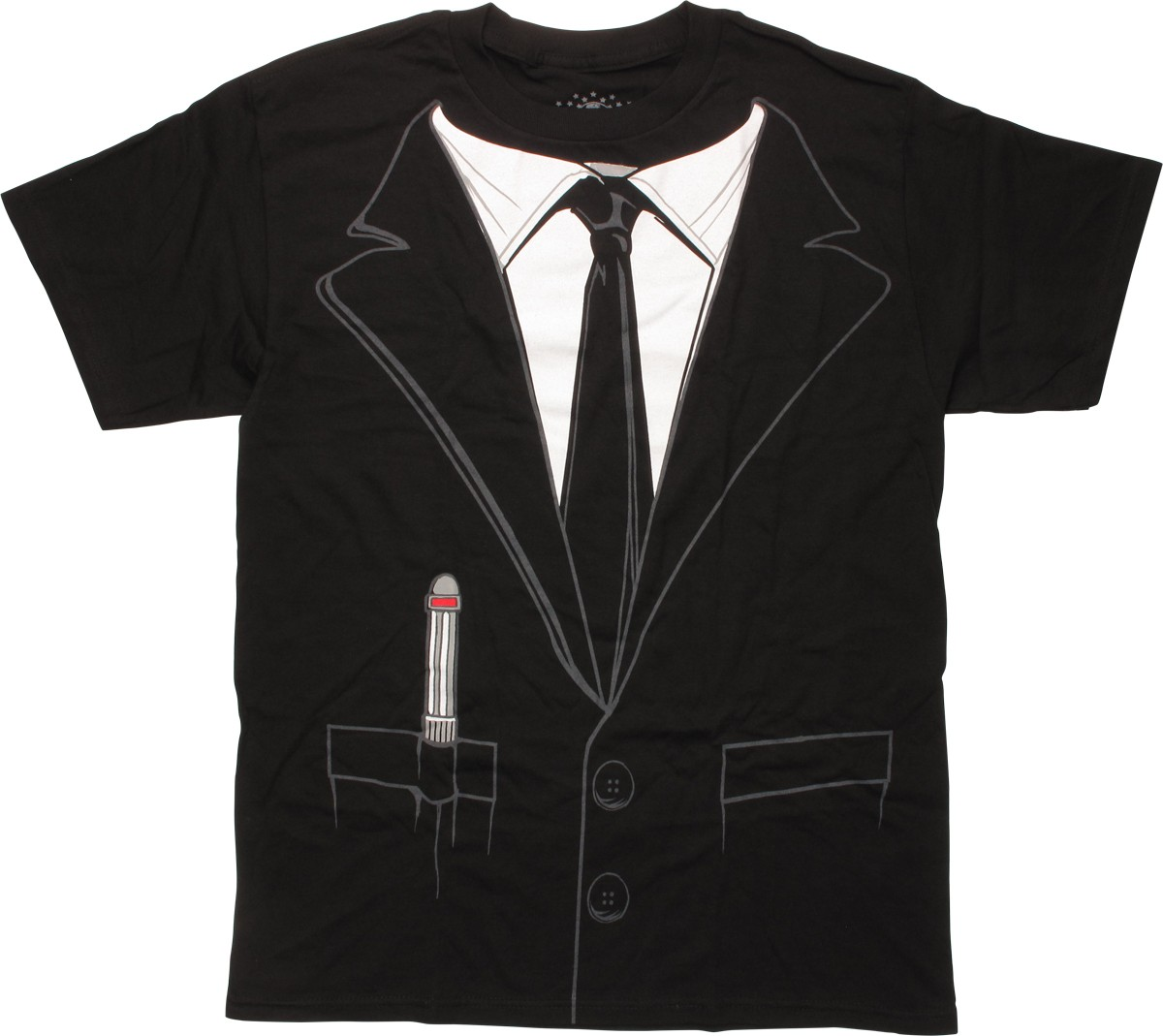 Men In Black Costume Suit T Shirt