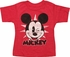 Mickey Mouse Face Winking Distress Toddler T-Shirt