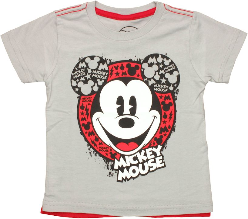 disney mickey mouse mickey mouse head cape toddler t shirt. Black Bedroom Furniture Sets. Home Design Ideas