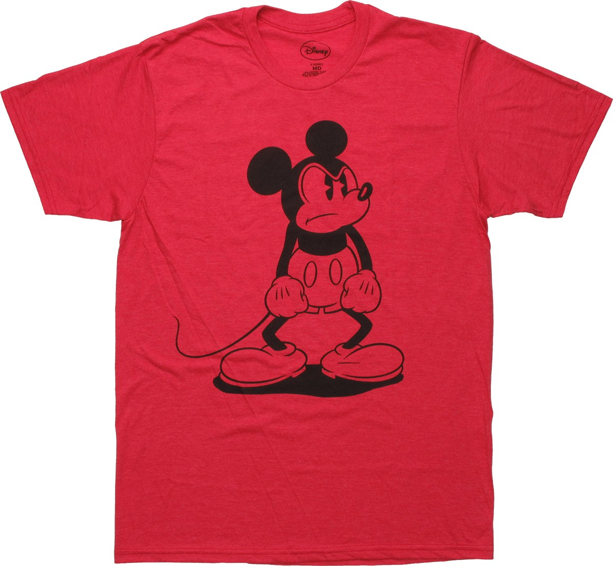 mickey mouse mad stance red t shirt sheer. Black Bedroom Furniture Sets. Home Design Ideas