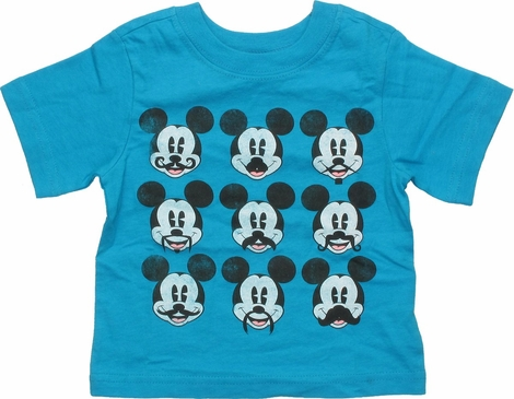 Mickey Mouse Mustache Disguises Infant T-Shirt
