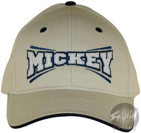 Mickey Mouse Name Hat