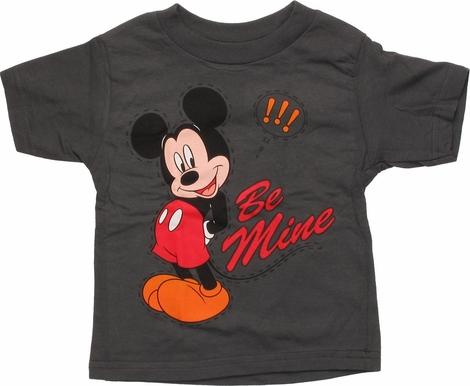 Mickey Mouse Stitched Be Mine Infant T-Shirt