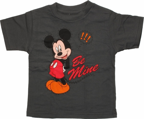 Mickey Mouse Stitches Be Mine Toddler T-Shirt