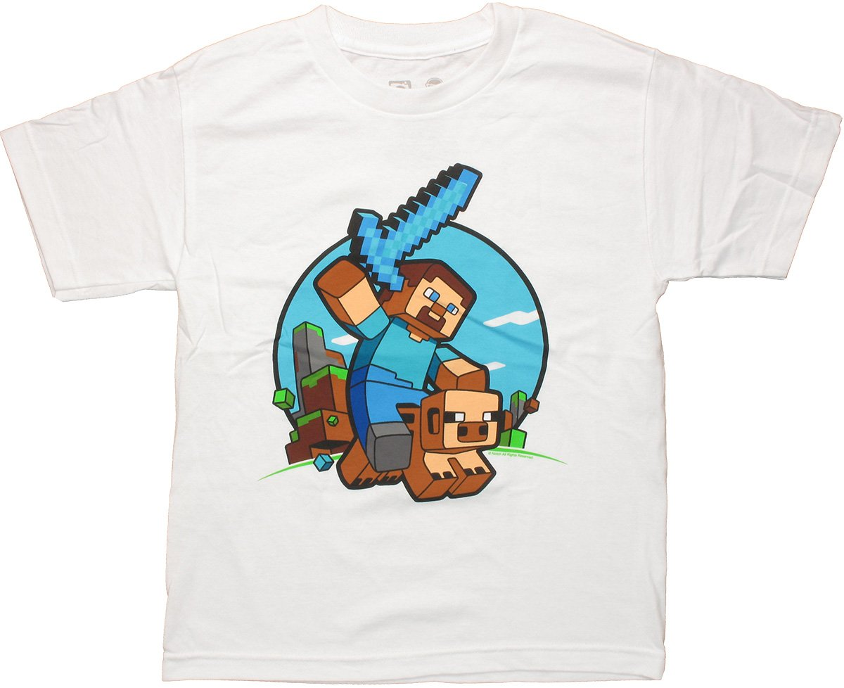 Minecraft T-Shirt \u2014 Crafthubs