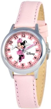 Minnie Mouse Kids Time Teacher Buckle Watch