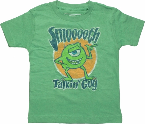 Monster Inc Mike Smooth Talkin Guy Toddler T-Shirt
