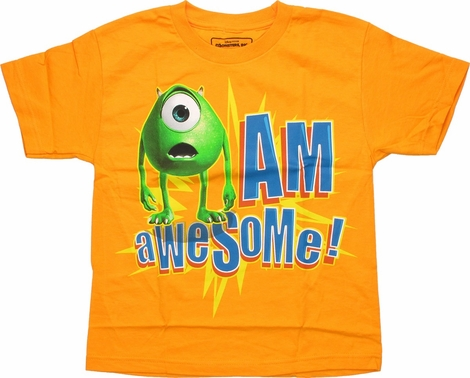 Monsters Inc Eye Am Awesome Youth T-Shirt