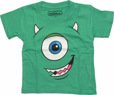 Monsters Inc Mike Glow Face Toddler T-Shirt