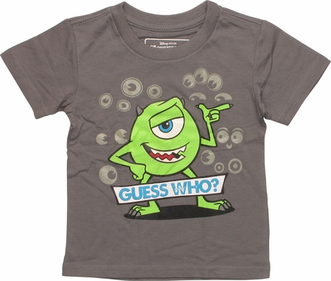 Monsters Inc Mike Guess Who Infant T-Shirt