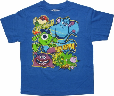 Monsters Inc Oozma Kappa Glow Youth T Shirt