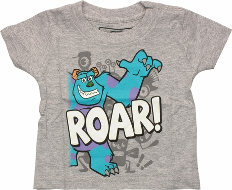 Monsters Inc Sullivan Roar Infant T Shirt