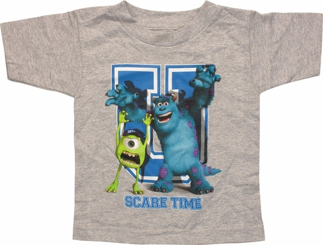 Monsters Inc U Scare Time Toddler T-Shirt