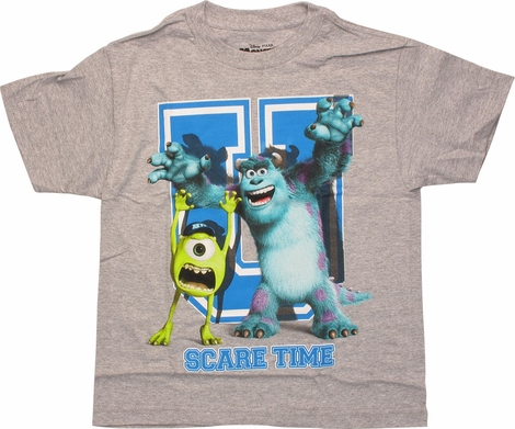 Monsters Inc U Scare Time Youth T-Shirt