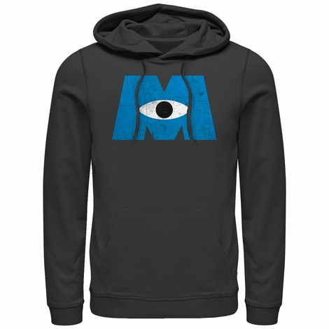 Monsters Inc Vintage Logo Pullover Hoodie
