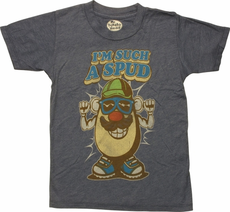 Mr Potato Head I'm Such A Spud Juvenile T-Shirt