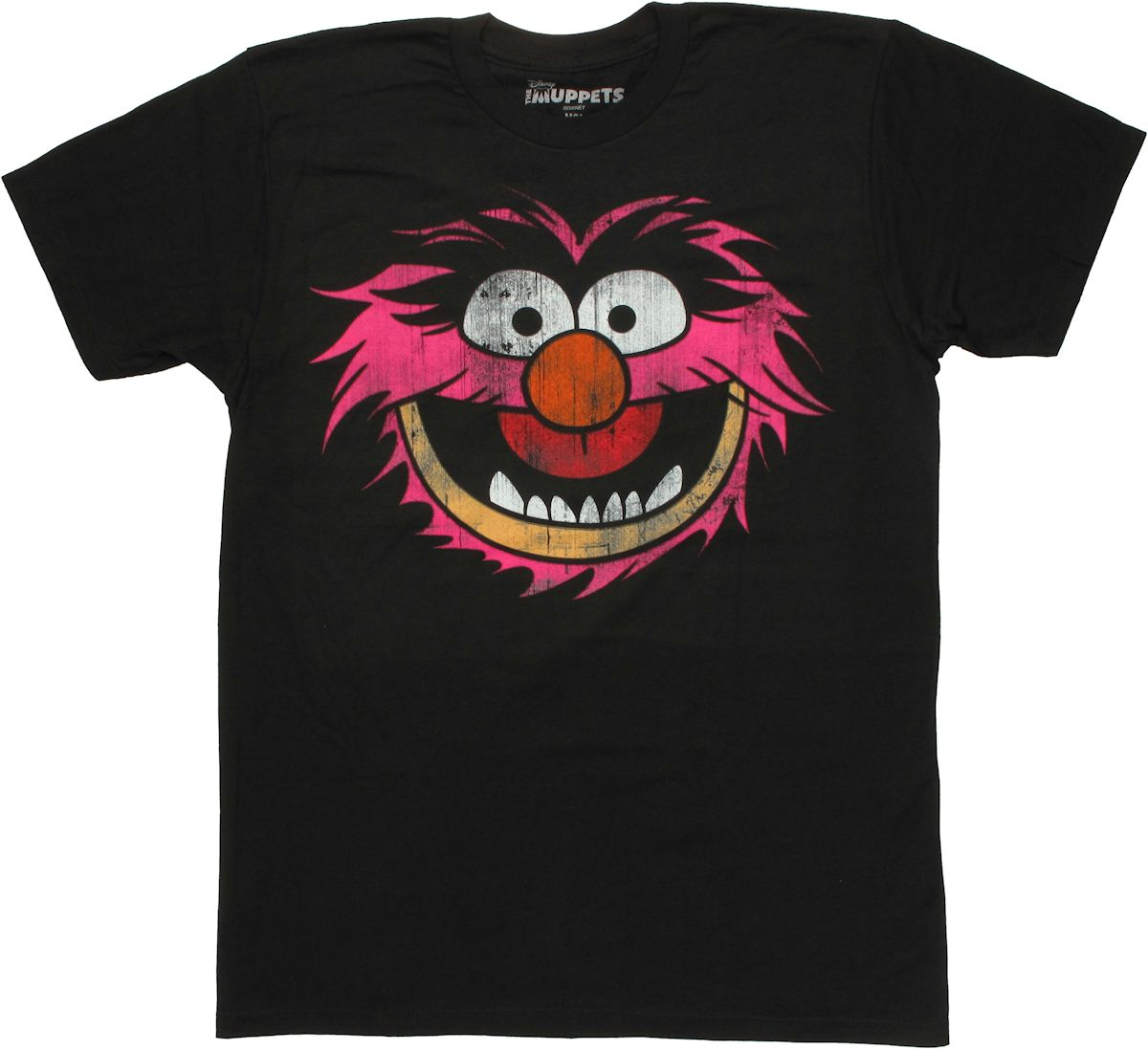 Muppets animal head t shirt sheer for Animal tee shirts online