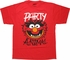 Muppets Party Animal Red T-Shirt