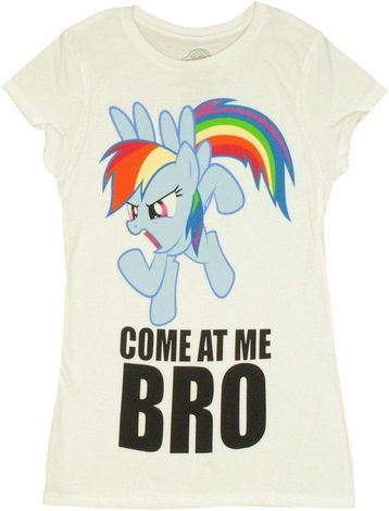 My Little Pony Come At Me Bro Baby Tee