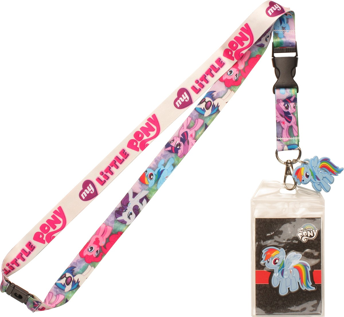 my pony friendship is magic charm lanyard