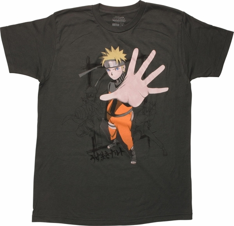Naruto Shippuden Hand Extended T-Shirt