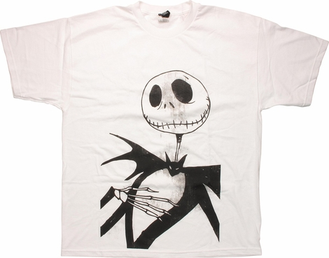 Nightmare Before Christmas Flattered Jack T-Shirt