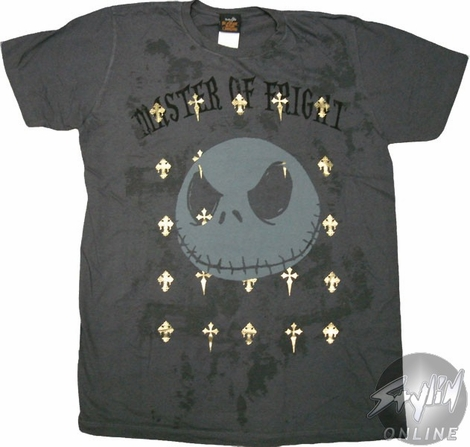 Nightmare Before Christmas Fright T-Shirt Sheer
