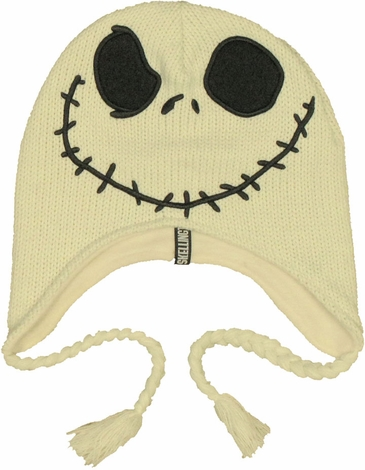 Nightmare Before Christmas Jack Lapland Beanie