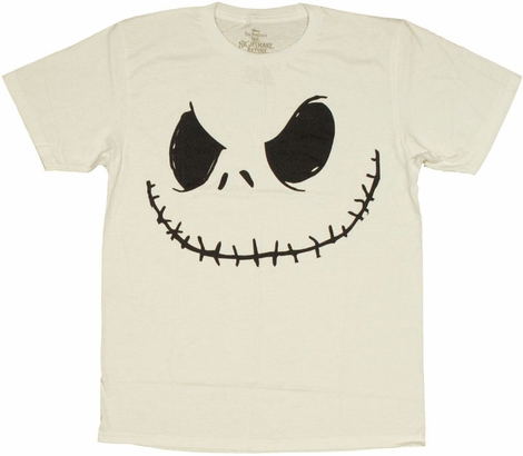 Nightmare Before Christmas Jack T Shirt Sheer